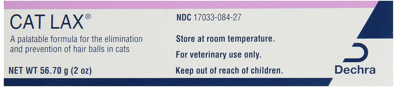 Dechra Cat Lax Cat Hairball Remedies, 2 oz