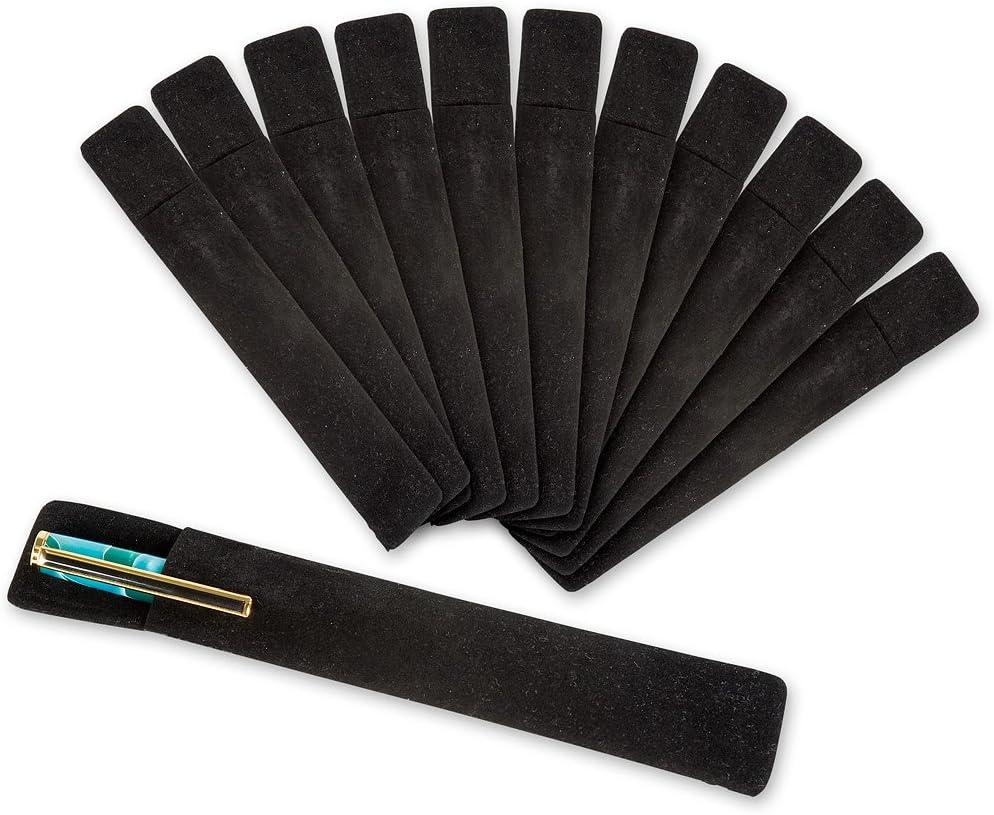 Velvet Pen Sleeves Pkt 12
