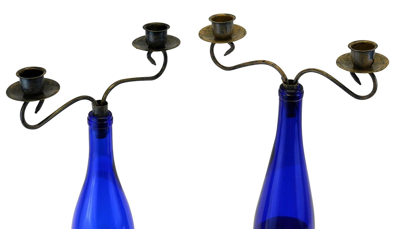 Southern homewares kerzenständer für weinflaschen kandelaber 2