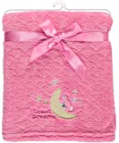 "Feel Cozy Stylish Patterned Baby Blankets, 30""x40"" (Sweet Dreams Girls)"