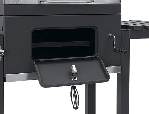 Tepro Toronto Holzkohlegrill Mit Grillrosteinsatz : Tepro grillwagen toronto click modell 2019 anthrazit edelstahl