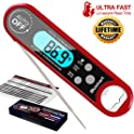Blusmart Instant Read Meat Blusmart Waterproof Digital Food Thermometer