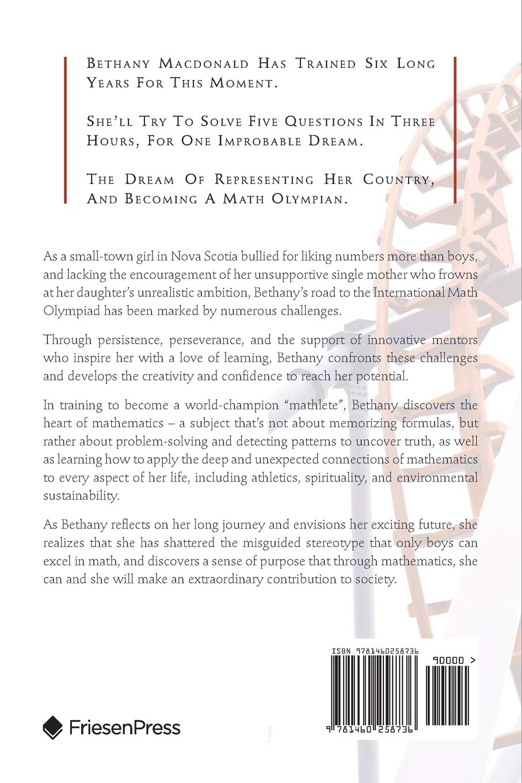 Amazon com: The Math Olympian (9781460258736): Richard Hoshino