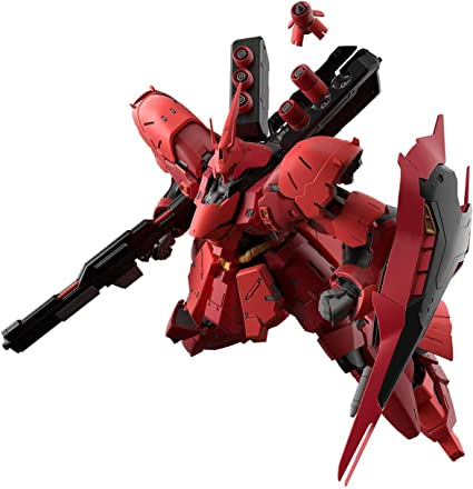 Bandai Hobby RG 1//144 #29 Sazabi Chars Counterattack 1//144 RG MSN-04 Mobile Suit Gundam