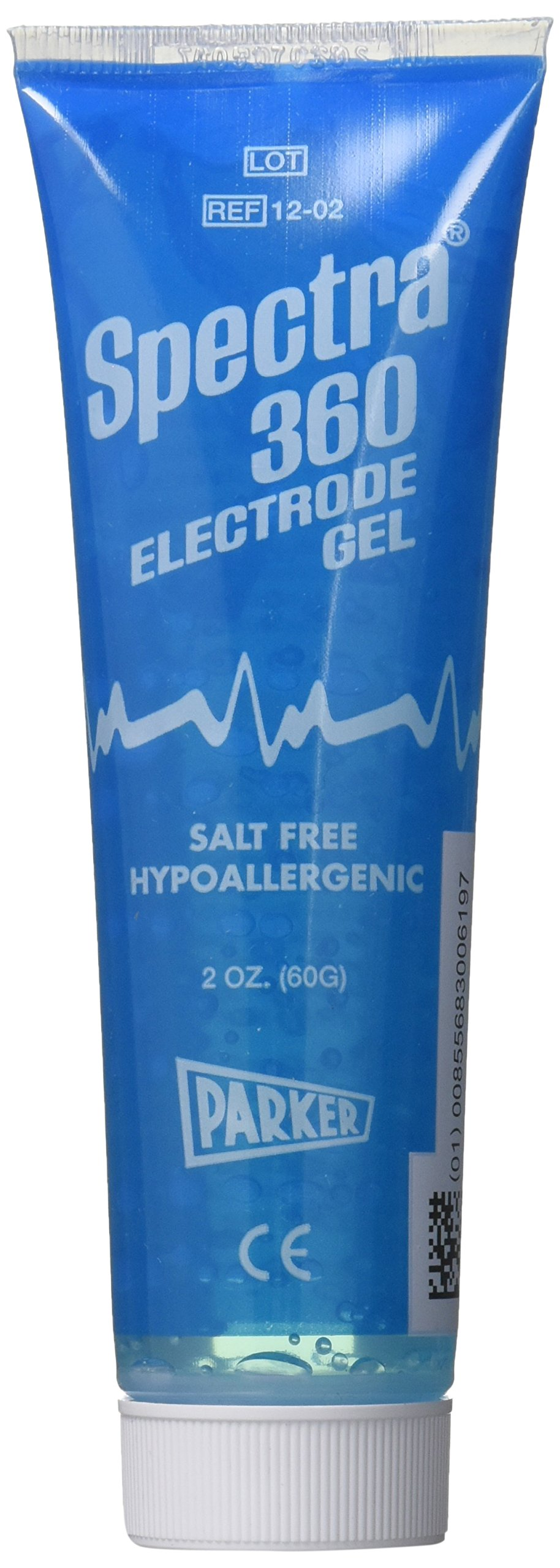 Spectra 360 Electrode Gel - Parker Laboratories - 60g (2oz) Tube - (Pack of 3)