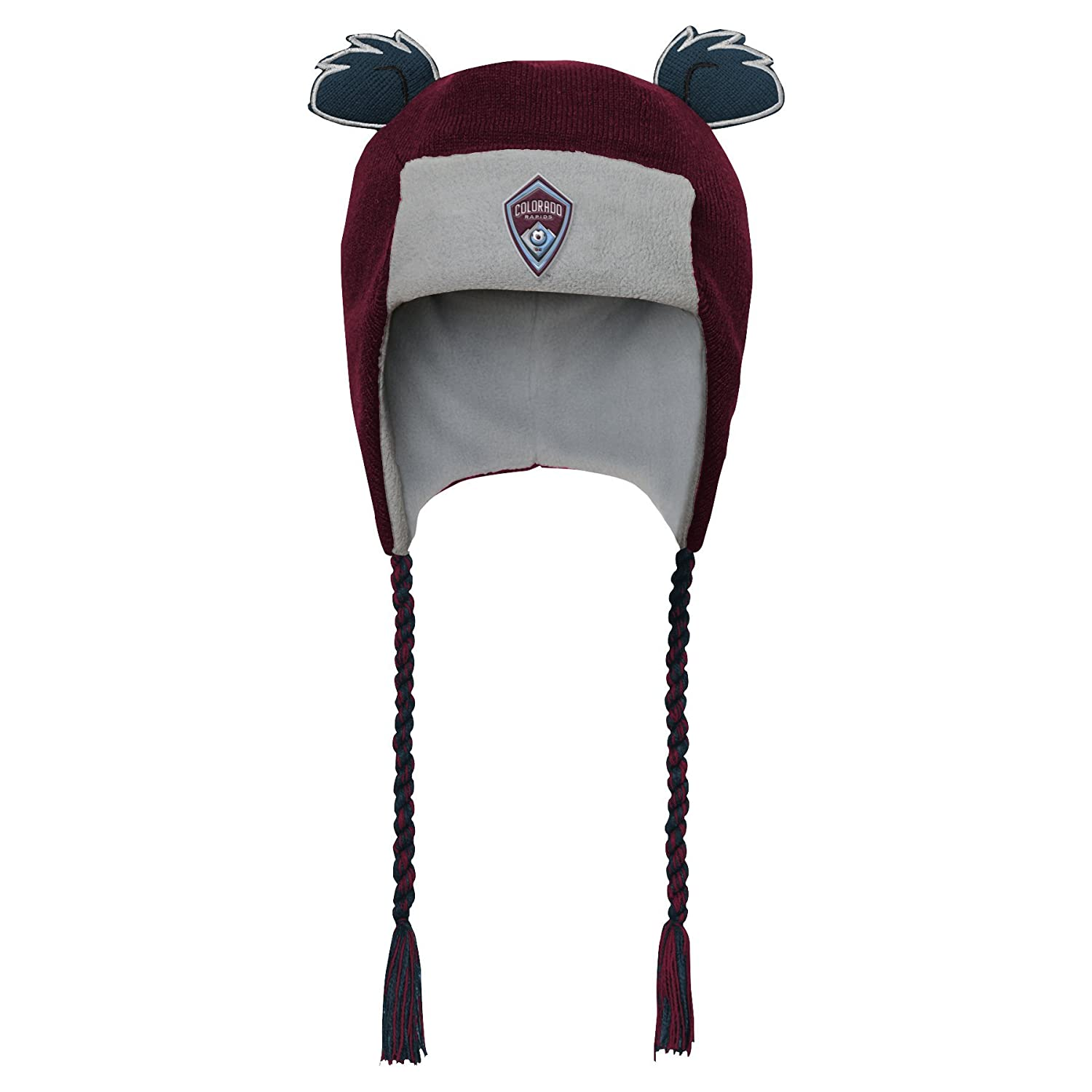 MLS by Outerstuff Toddler Ears Trooped Hat Burgundy 1 Size