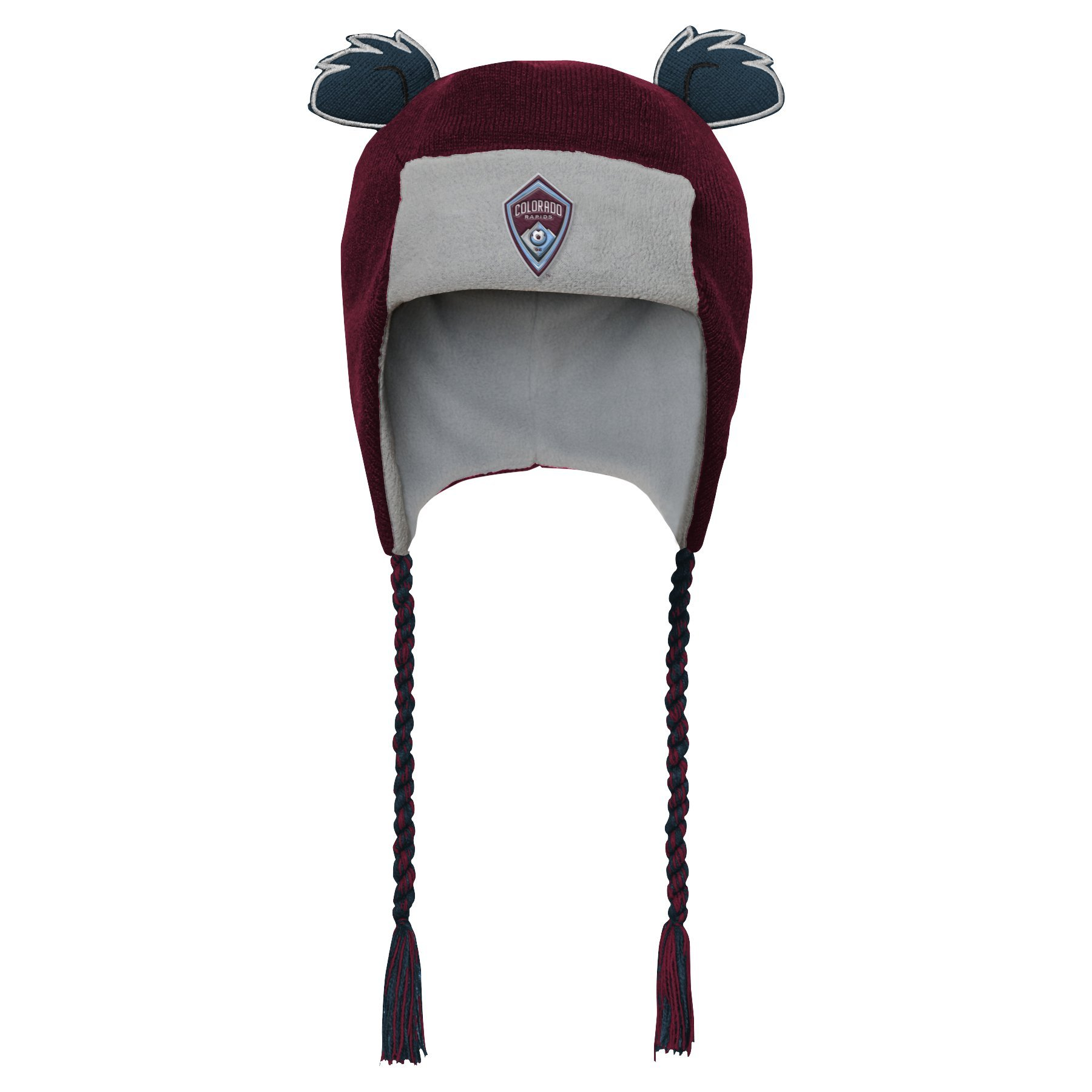 Outerstuff MLS Colorado Rapids R S47DL Boys Ears Trooped Hat, One Size, Burgundy