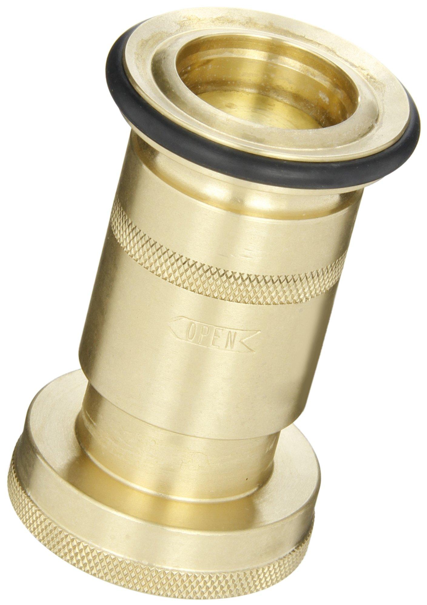 Dixon Valve BFN150 Brass Fire Equipment, Industrial Fog Nozzle, 1-1/2'' NPSH