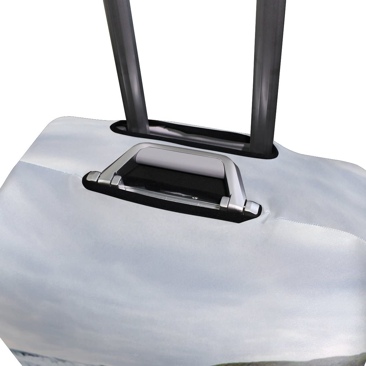 OREZI 3D Waterfall River Luggage Protector Suitcase Cover 18-32 Inch