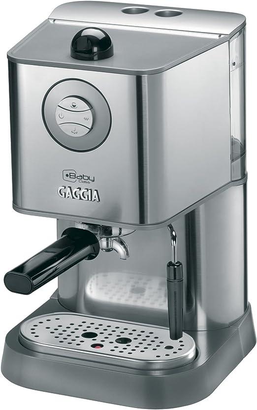 Gaggia RI8157/40 - Cafetera (Independiente, Máquina espresso, 1,6 ...
