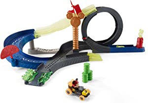 Fisher-Price Disney Mickey and The Roadster Racers Super Charged Mickey Drop & Loop Playset