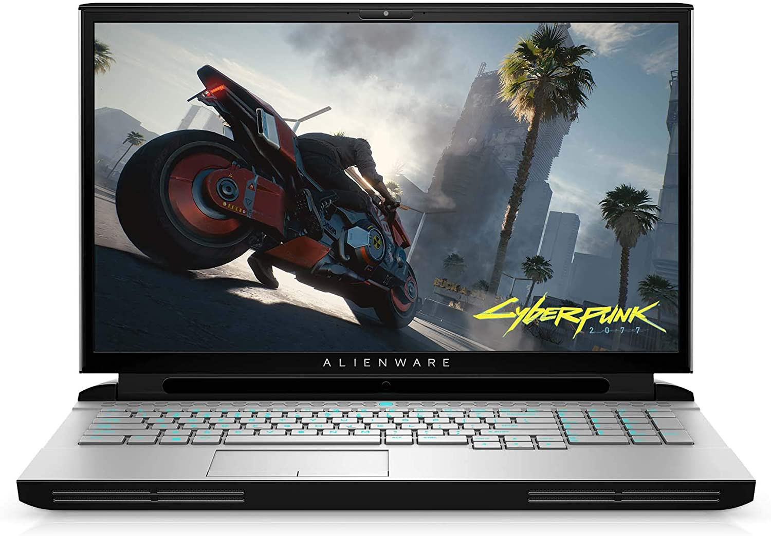 "New Alienware Area 51M Gaming Laptop, 17.3"" 300hz 3ms FHD Display, Intel Core i7-10700K, Nvidia GeForce RTX 2070 Super 8GB GDDR6, 1TB SSD, 16GB RAM, Lunar Light"