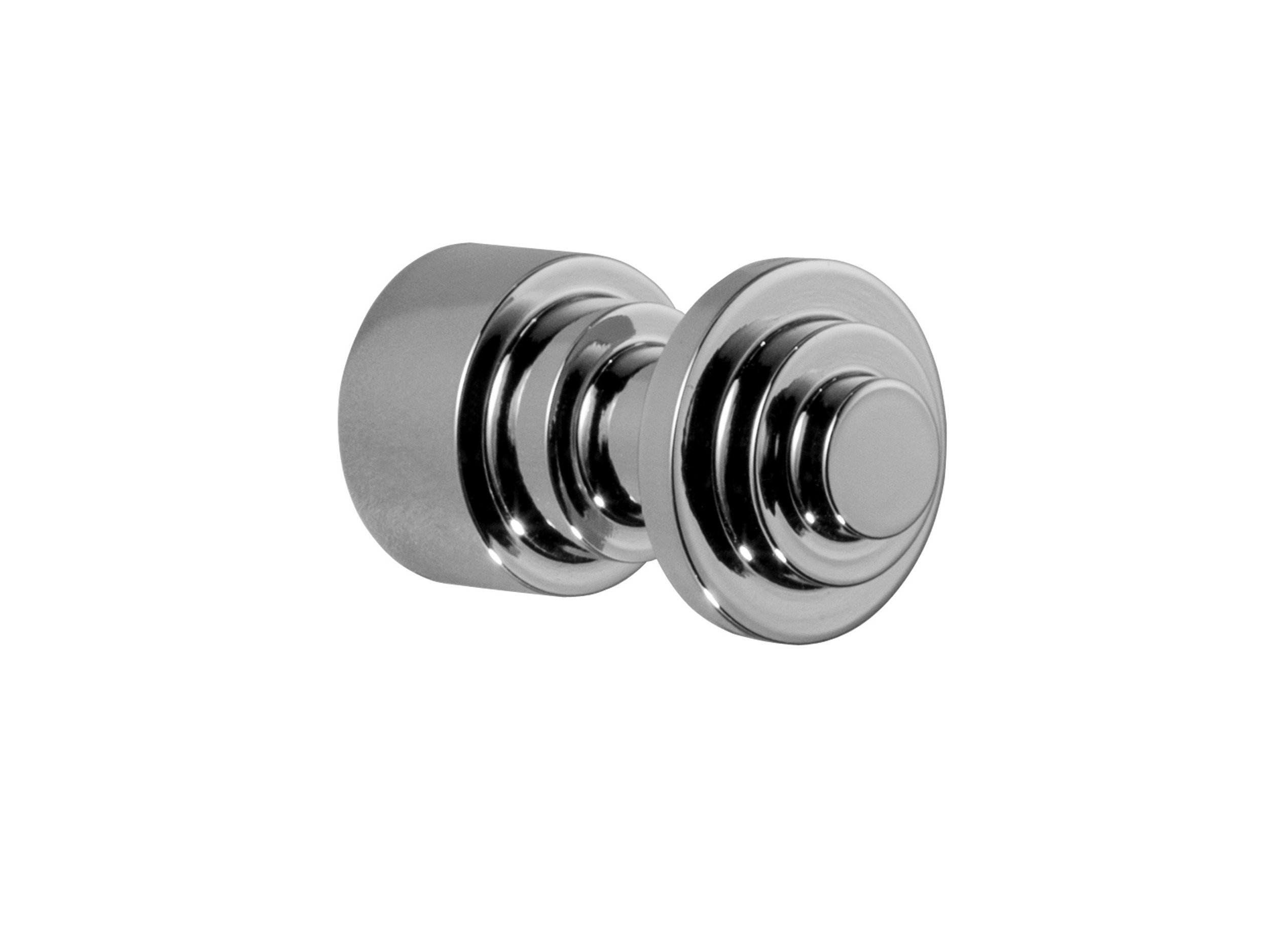 W-Luxury Scala Wall Small Towel Robe Hook Hanger for Bath/Kitchen Towel Holder, Brass (Polished Chrome)