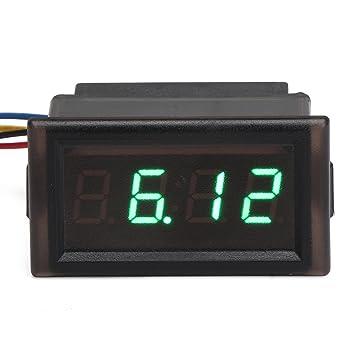 Reloj digital impermeable para coche YB28T-W de DROK®, 4,5 ~ 30 V, con pantalla LED luminosa: Amazon.es: Coche y moto