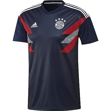 reputable site 5114a 50c2a Amazon.com : adidas 2018-2019 Bayern Munich Pre-Match ...