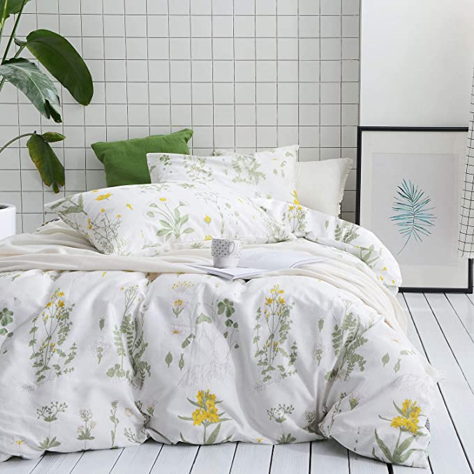 Flower Pattern Bamboo Covered Half Circle Pillow Hard Type Bed Pillow Bedding