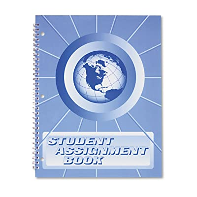 Ward SA98 Student Assignment Book, 40 Weeks, 11 x 8-1/2, Laminated Cover (HUBSA98): Office Products