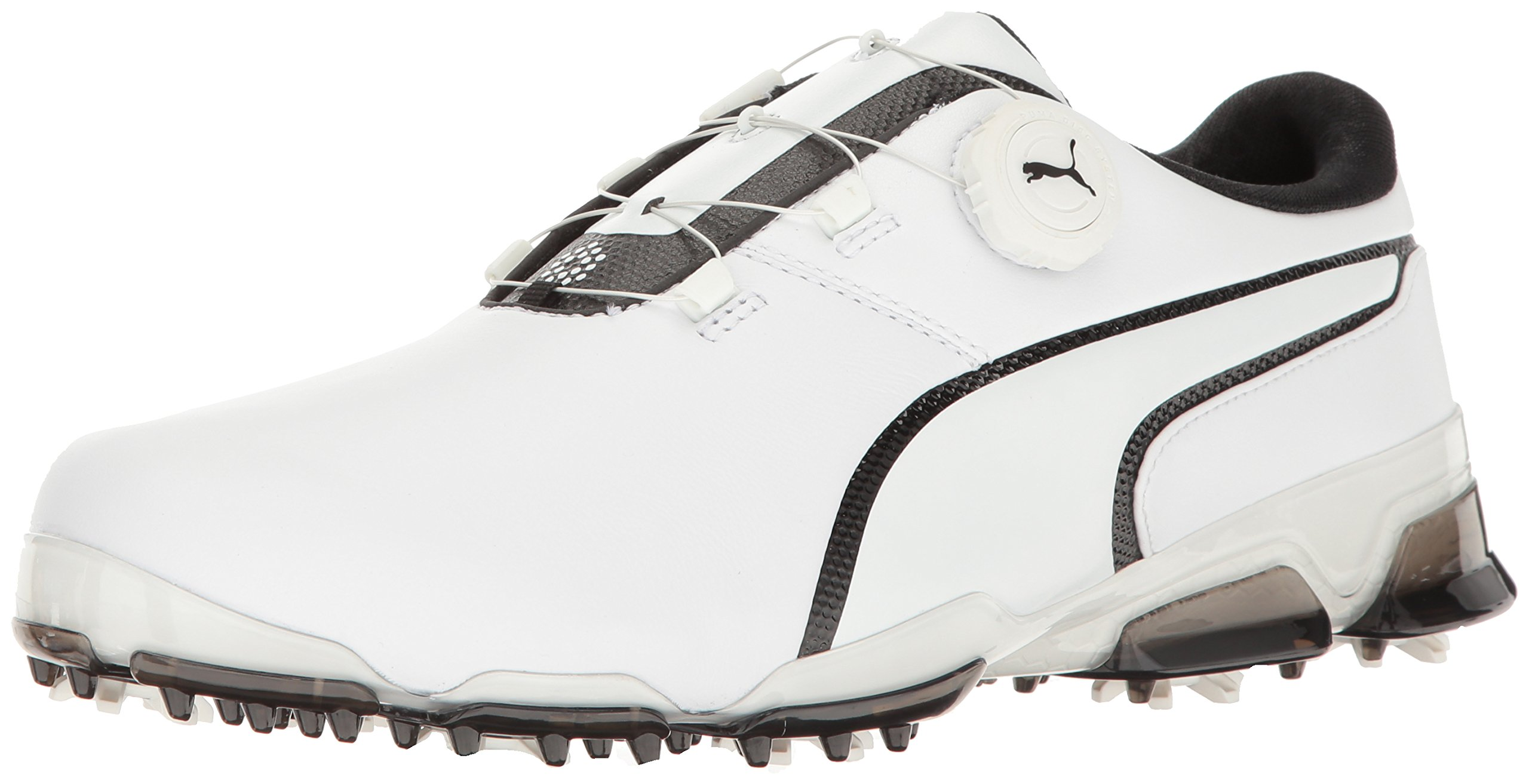 Galleon - PUMA Men s Titantour Ignite DISC Golf Shoe White Black ... 1688457e1