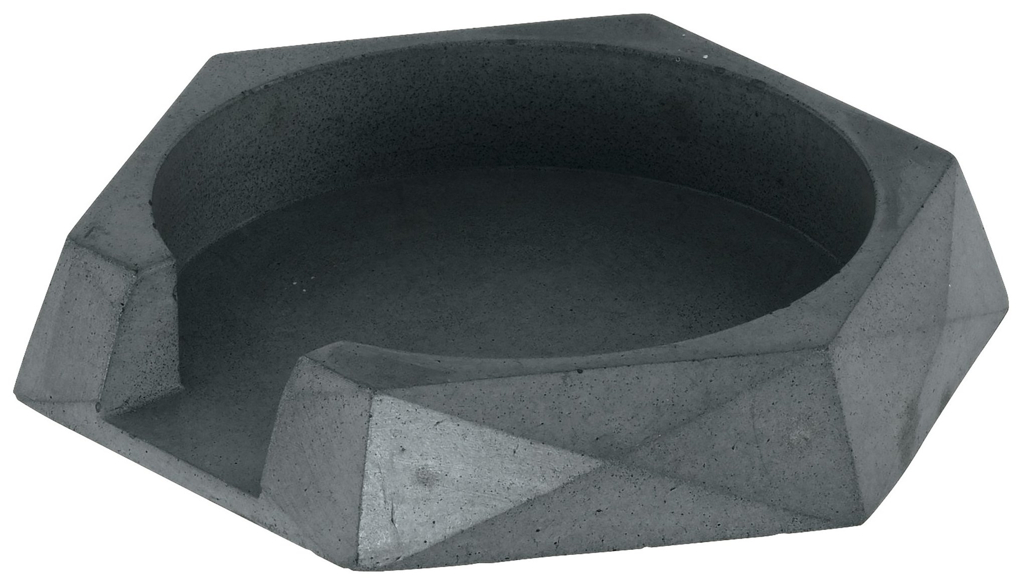 Kuhn Rikon 35023 Monument Cement Spoon Rest, 5.7'', Anthracite by Kuhn Rikon