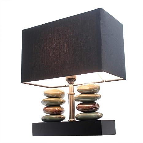 Amazon.com: Diseño elegante lt1036-blk rectangular Dual ...