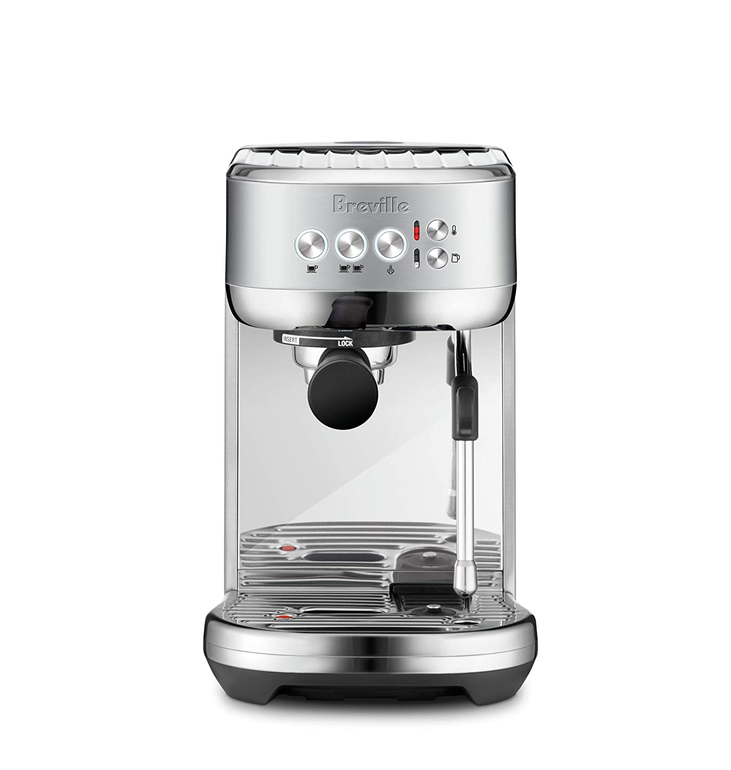 Breville Bambino Plus Compact Espresso Machine Serves Barista-Level Coffee