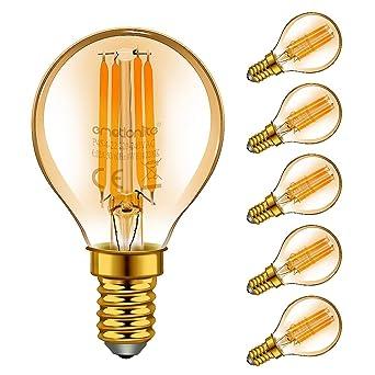 E14 De Led 40wCandélabreAmbre Glow2200kPaquet Incandescence Emotionlite Led4wequivalent À 6p45 2200k AmpoulesAmpoules QrdoCeBxWE