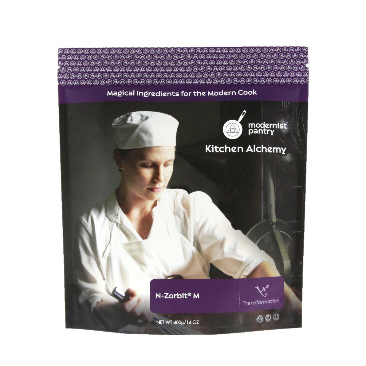 N-Zorbit - Food Grade Tapioca Maltodextrin (Molecular Gastronomy) ⊘ Non-GMO ☮ Vegan ✡ OU Kosher Certified - 400g/14oz