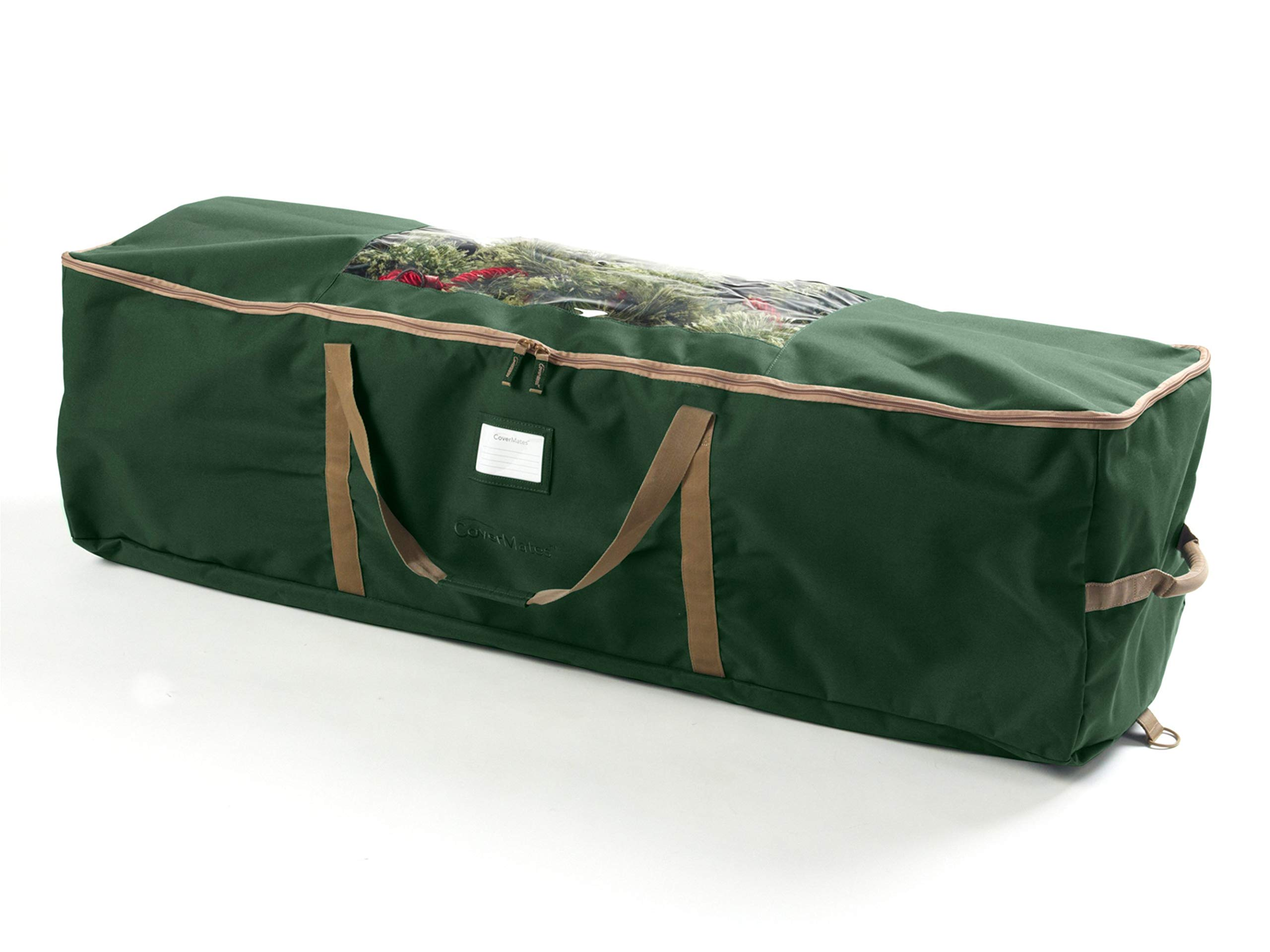 CoverMates – Holiday Garland Storage Bag – Holds up to 25 Feet of Garland – 3 Year Warranty- Green