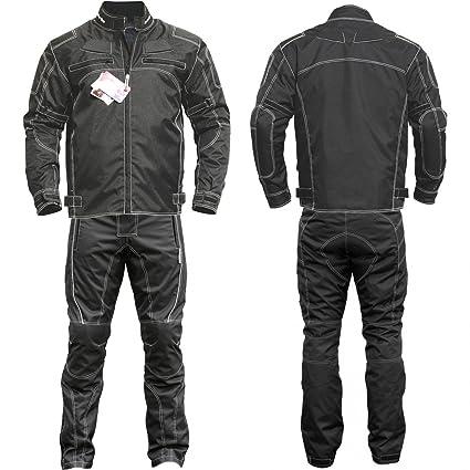 Germanwear 2-teiler Motorradkombi Cordura Textilien Motorradjacke Motorradhose Gr/ö/ße:52