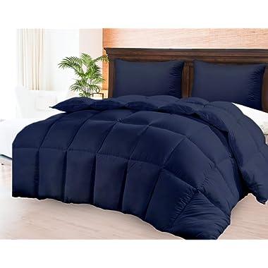 Comforter Duvet Insert – Warm, Lightweight & Breathable King Size Down Alternative Set – Hotel Quality Bedding - Dust & Spore-Resistant Fibers Ideal for Allergies - Lightweight Duvet Insert For Summer