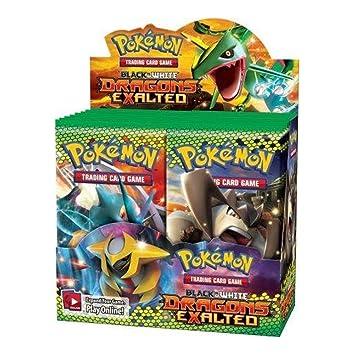 Pokemon - Juego de cartas - Dragons exalted Boosters: Amazon ...