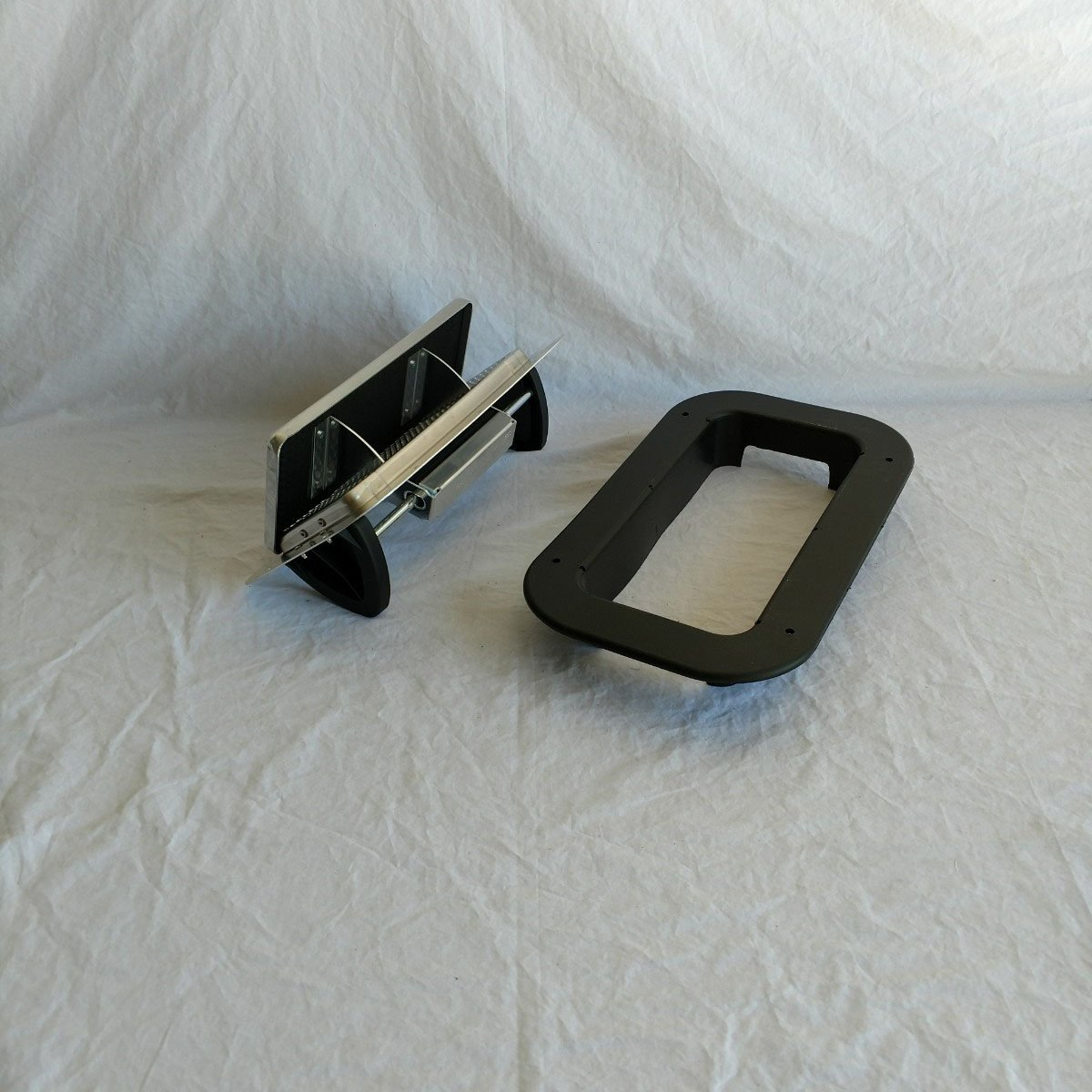 Kay Aluminum Low Profile Popup Air Flow Roof Vent Trailers, RV Trim Ring Kay Enterprises EOVALP-Trim