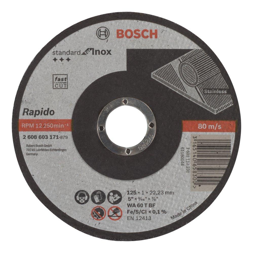 5 discos de limpieza CSD /Ø 125 mm CBS para amoladora angular Clean Strip Disc de tejido de nailon azul
