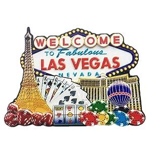 3D Famous Casino Las Vegas Nevada USA Fridge Magnet Souvenir Gift,Home & Kitchen Decoration Magnetic Sticker Las Vegas USA Refrigerator Magnet Collection
