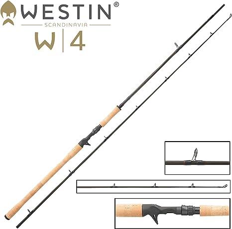 Mosca W4 Power Shad de T XH 240 cm 30 – 90 g – Caña para Pescar ...