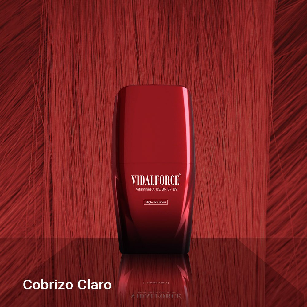 VidalForce Fibras Capilares Naturales Cobrizo Claro 25 gr Maquillaje capilar: Amazon.es: Belleza