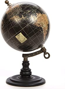 Better Homes Decorative Table Top Globe Whimsical Decor Table Top Statue Wood Stand Designed