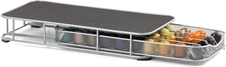 Porte-capsules /à tiroir pour 40/capsules Nespresso autoprotette originales et compatibles
