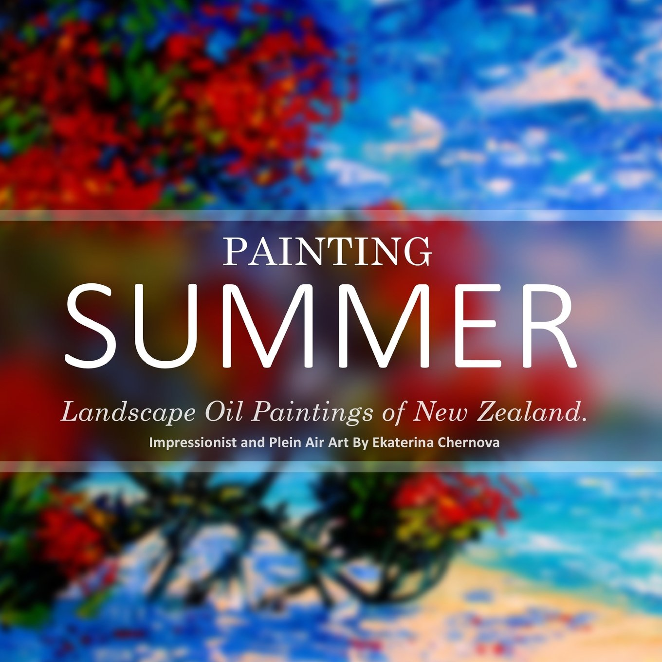 Painting Summer Landscape Oil Paintings Of New Zealand