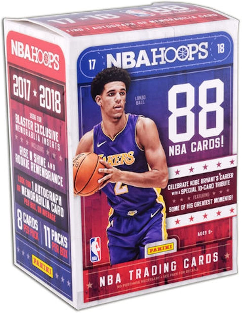 2017 – 2018 NBA Hoops sellado de fábrica baloncesto tarjetas w/1 o ...