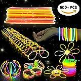 Bramble Set da 544 bastoncini luminosi fluorescenti - Ideali per feste, regalini, bracciali, braccialetti fluo, giocattoli per la pentolaccia, premi, Natale, Capodanno Lightstick, glow stick, ecc.