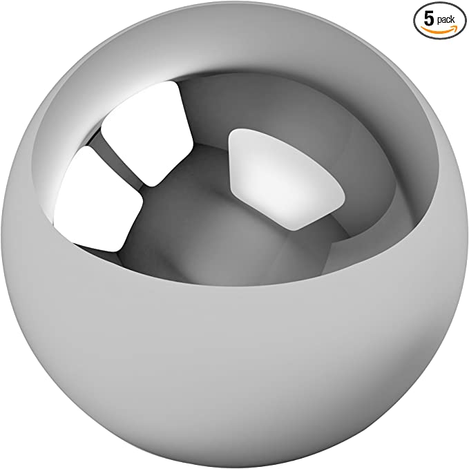 """100 9//64/"""" Inch G25 Precision 440 Stainless Steel Bearing Balls"""