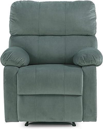 FlexLiving Sofa Recliner Chair for Living Room, Slate Green