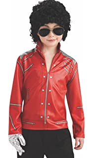 Amazon.com: Large Red Superstar Jacket & Trousers Costume ...