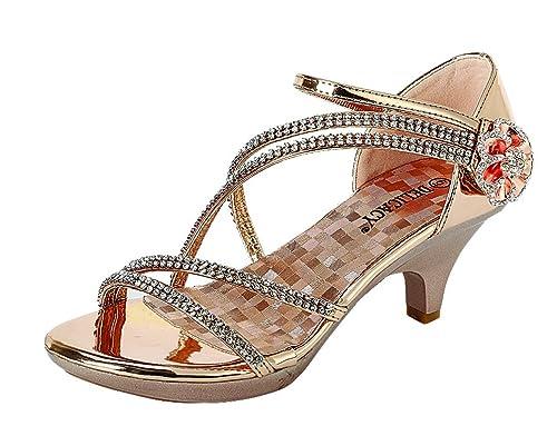 a84ad0fe6a Delicacy Womens Angel-48 Party Dress Sandals Pumps: Amazon.ca: Shoes &  Handbags