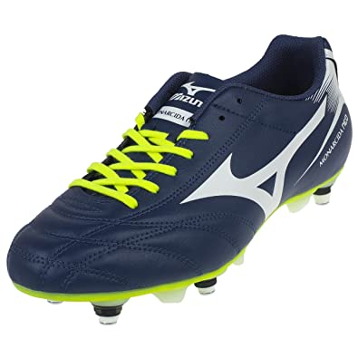 mizuno yellow football boots
