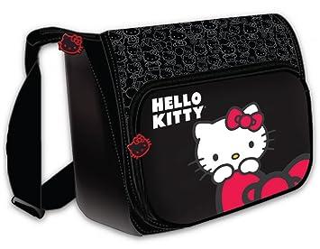 Hello Kitty KT4338BH horizontal - Bolso maletín para portátil de 15,4, color negro: Amazon.es: Informática