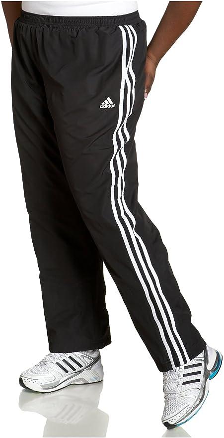 adidas Damen 3S Wind Hose, Damen, Schwarz/Weiß/Weiß: Amazon ...