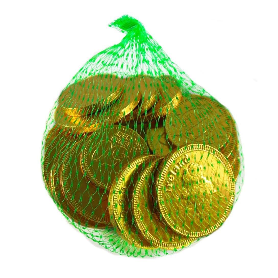 Amazon.com : Lucky Charms Bag of Irish Milk Chocolate Coins 75g ...