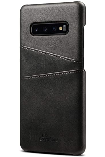 promo code 0d1ff b3442 Galaxy S10 Card Case, XRPow Synthetic Leather Wallet Case with Slim ...